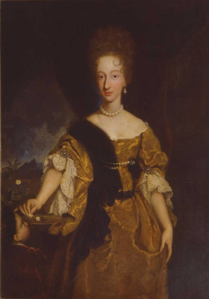 Violante Beatrice di Baviera, governatrice di Siena dal 1717 fino al 1731