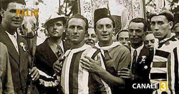 Pietro De Angelis detto Pietrino fantino del Palio di Siena