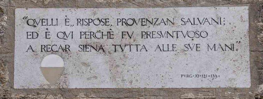 Dante Alighieri Purgatorio XI 121-123