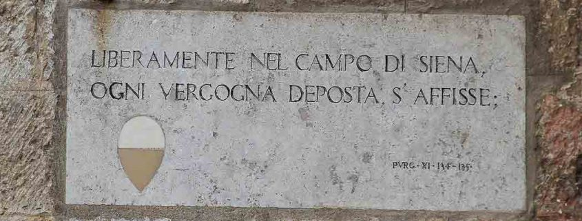 Dante Alighieri Purgatorio XI 134-135