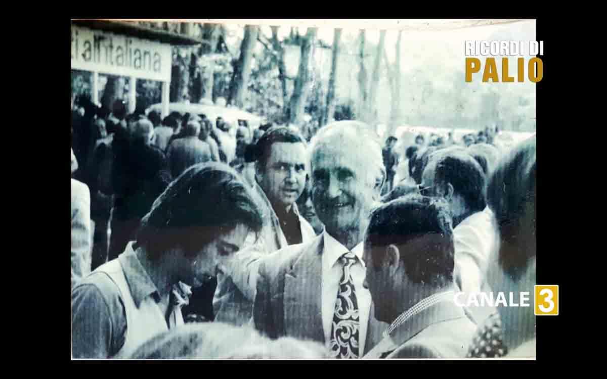 Fernando Leoni detto Ganascia con Enrico Corbelli