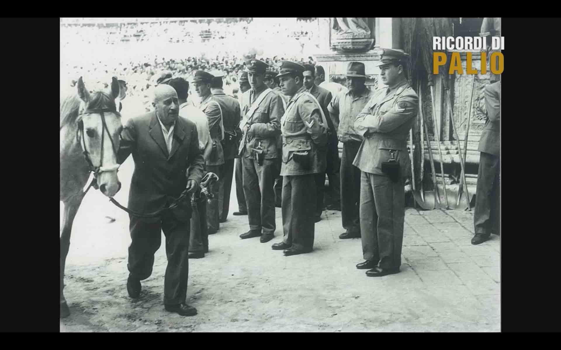 Il Sor Ettore Fontani storico personaggio della Nobile Contrada dell'Oca