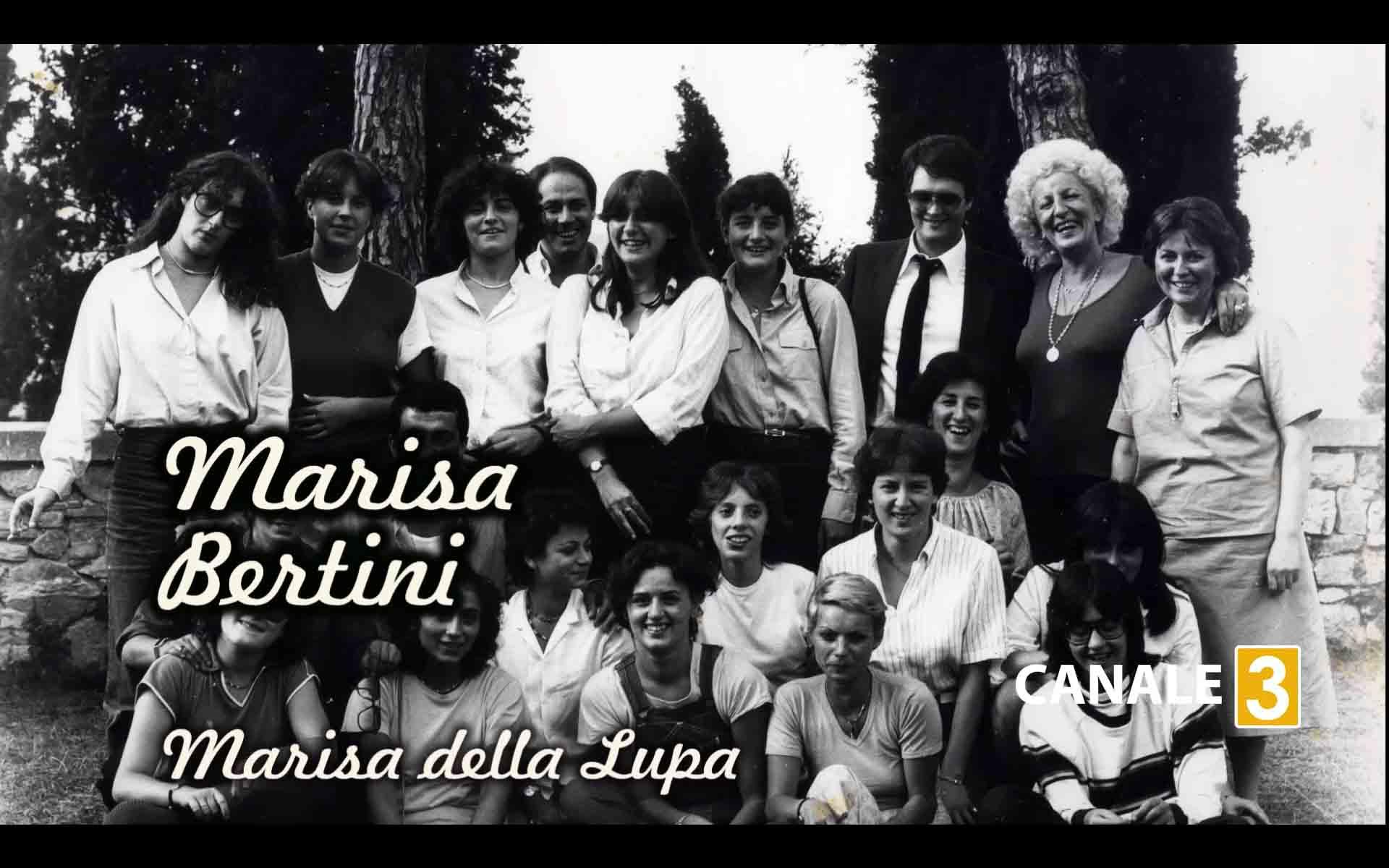 copertina della puntata di Ricordi di Palio, dedicata a Marisa Bertini, la Marisona della Lupa