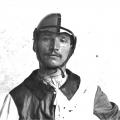 Angelo Meloni detto Picino vince il Palio del 16 agosto 1921 su Crognolo per la Nobile Contrada dell'Oca