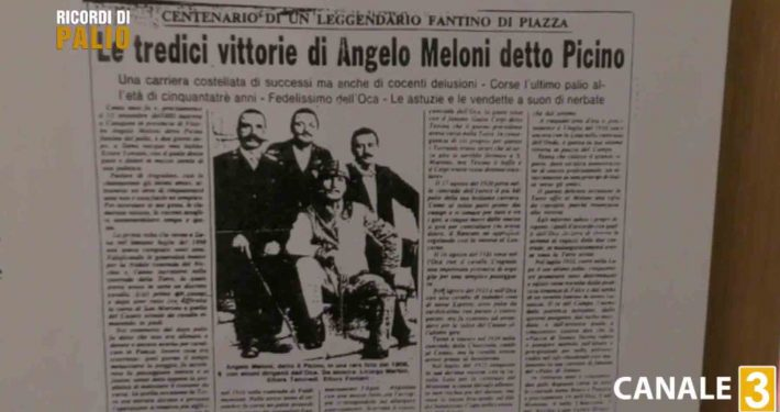 Ancora oggi si parla di Angelo Meloni detto Picino sui giornali locali
